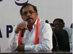 Kpcc Presidents Must Not Be The Next Cm G Parameshwar
