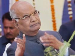 Next President Of India Kovind To File Nomination In Presence Of Modi