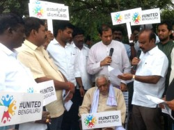 Save Lake Campaign By United Bengaluru