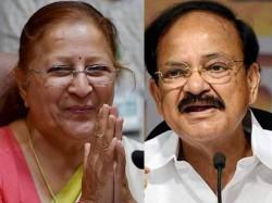 Next President Of India Vice President Is It Sumitra Mahajan And Venkaiah Naidu