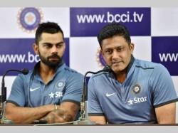 Virat Kohli Opposed To Anil Kumble Continuing As India S Head Coach