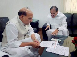 Rajnath And Naidu Hold Discussions With Sonia On Presidential Candidate