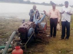 Tahsildar Orders Not To Use Lake Water For Farming In Periyapatna
