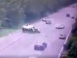 Viral Video Of An Accident In Greater Noida Uttara Paradesh