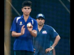 Arjun Tendulkar Injures England Player At Lord S Nets