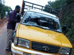 Assault On Van Driver At Uppinangady Mangaluru