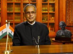In His Last Speech Pranab Mukherjee Stress On Unity Non Violence And Tolerance