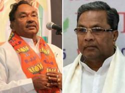 Cm Siddaramaiah Is Dividing Hindu Muslim Eshwarappa