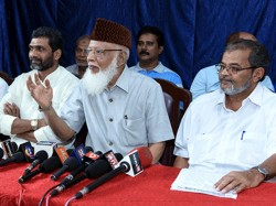 The Muslim Central Committee Was Not Invited For Peace Meeting Ks Muhammad Masood