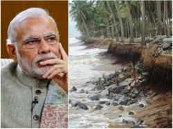 Sea Erosion Fear Mangaluru Youth Writes Letter To Pmo Receives Reply