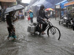 Heavy Rains Led To Flood Assam And Life Affected Himachal Pradesh Gujarat
