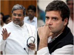 Chief Minister Siddaramaiah Will Meet Congress High Command To Discuss Various Matters