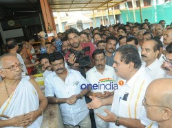 Minister Ramanath Rai Offers Special Prayer Arrest Sharath Madiwala Murderers Soon