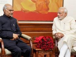 President Of India Election 2017 Pm Modi Wishes Kovind In Advance Pledges Govt S Support