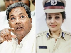 D Roopa S Transfer Is An Administrative Process Says Cm Siddaramaiah
