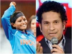 Sachin Tendulkar Lauds The Father Of Cricketer Rajeshwari Gayakwad