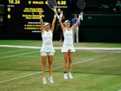 Wimbledon Russian Vesnina Makarova Win Women S Doubles Title