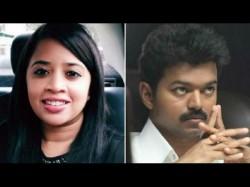Fir Against Vijay Fans Threatening Trolling Tnm Editor Dhanya Rajendran