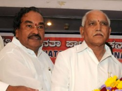 Me And Yeddyurappa Are Just Like Ram Laxman Ks Eshwarappa