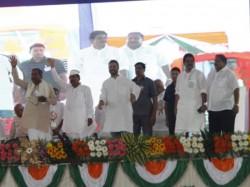 Rahul Gandhi Rally At Raichur Karnataka Speech Highlights