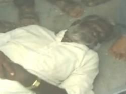 A Man Death During Congress Convention At Raichur