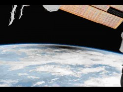 Nasa Releases Rare Photos Solar Eclipse Taken From International Space Station