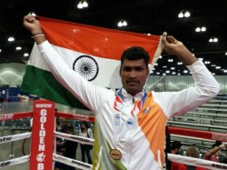 Chamarajanagar Soldier Defeated Spain In Boxing