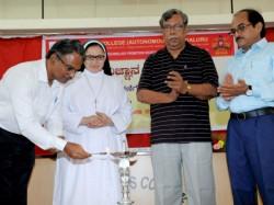 Vijnana Kannada Worshop Held At St Agnes College
