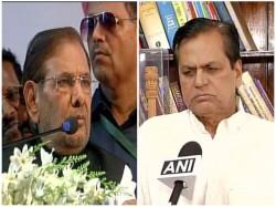 Sharad Yadav Ali Anwar Disqualified As Rajya Sabha Members