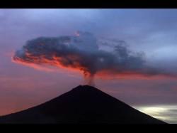 When Mount Agung Volcano In Bali Erupted