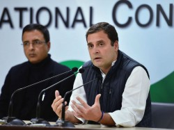 Party Is Deeply Perturbed Rahul Gandi On Judges Conference