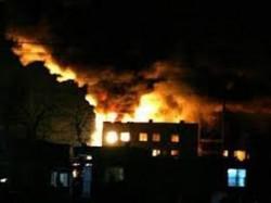 Shops Gutted In Raigads Fire