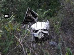 Uttarakhand 8 Killed After Car Falls In Gorge
