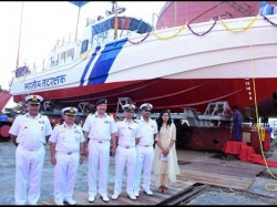 Mangaluru Coast Guard Launches New Interceptor Boat For Security