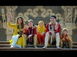 Canada Pms Family In India Beautiful Photos