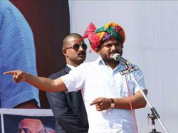 Rahul Gandhi Is Not My Leader Hardik Patel