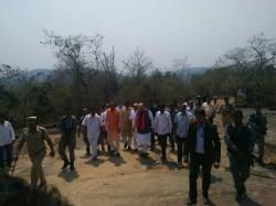 Amit Shah Visits Kavi Shaila Kuppalli