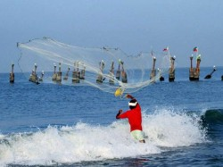 Climate Change Fishermen Restrcited To Fishing In Sea