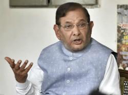Jdu Yet To Decide On Alliance In Karnataka Says Sharad Yadav