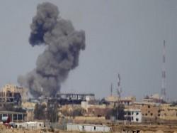 Rocket Attack Kills 35 In Damascus Syria