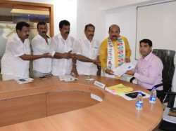 Dakshina Kannada Congress Bjp And Cpim Candidates Files Nomination