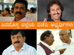 Karnataka Elections Shivamogga Bjp Candidates Brief Profiles