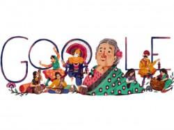 Google Doodle Celebrates Kamaladevi Chattopadhyay Birth Anniversary