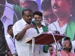 Elections 2018 Hd Kumaraswamy Slams Congress Water Problem Across State