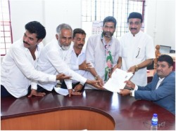 Jds Candidate K Ashraf Files Nomination Mangaluru Assembly Constituency