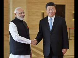 Prime Minister Narendra Modi Meets China President Xi Jinping