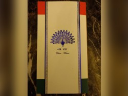 Wuhan Menu Card Designed With Indian Touch For Pm Modi