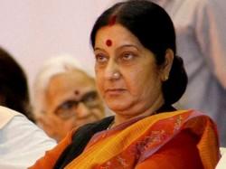 Terror And Talks Cannot Go Together Sushma Swaraj