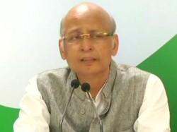 Abhishek Manu Singhvi Objects Kg Bopaiah Being Appointed As Pro Tem Speaker