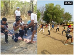 Bajrang Dal Organized Arms Taining Camp To Protect Hindus